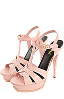 YSL босоножки нежно-розовые