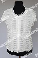 Нарядная женская летняя блуза больших размеров