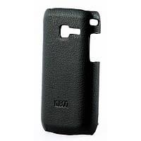 Накладка Kuboq Samsung S6102 Galaxy Y Duos PU leather Black (KQSS6102LC1BKPULC)