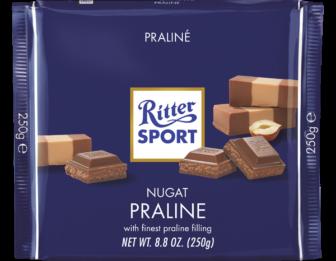 Шоколад Ritter Sport Praline (Риттер Спорт с пралине), 100 г