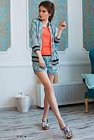Женский костюм с шортами 01285 аф