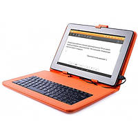 Чехол Клавиатура Vellini для планшетов 10'' (Orange)