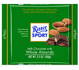 Шоколад Ritter Sport Whole Almonds (Риттер Спорт с миндалем), 100 г, фото 3