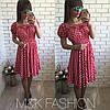 Платье с принтом горошка, фото 2