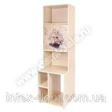 Стеллаж Дэми открытый с тумбой под системный блок СМД-03-02 (клен)купить в Киеве и Украине