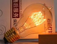 Лампочка накаливания a19 Лампа Эдисона Е27 DIY лофт ретролампа винтаж