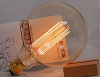 Лампочка накаливания g125 Лампа Эдисона Е27 DIY loft ретро лампа винтаж