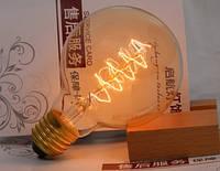 Лампочка накаливания g80-2 Лампа Эдисона Е27   DIY. Декоративный свет вольфрам.