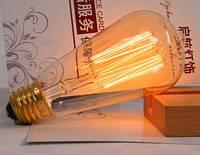 Лампочка накаливания st58 Лампа Эдисона Е27 40w DIY. Декоративный свет вольфрам
