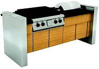 Фуршетний модуль для  приготування і подачі страв в чафіндішах INOKSAN (Туреччина), фото 1