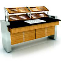 Фуршетний модуль для хлібобулочних виробів INOKSAN (Туреччина), фото 1