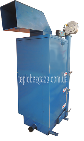 Твердотопливный котёл длительного горения «WICHLACZ» модель GK-1 мощность 38 кВт отапливаемая площадь 305 м2, фото 2