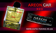 AREON CAR - Спрей, освежитель воздуха + карточка Car Perfume, RED, CP-03, 100 ml