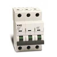 Автоматический выключатель VIKO 3C 20A трёхполюсный