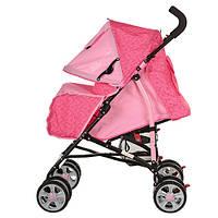 Детская коляска M 2103-2 розовая, фото 1