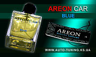AREON CAR - Спрей, освежитель воздуха + карточка Car Perfume, BLUE, CP-02, 100 ml