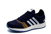 Кроссовки Adidas Adistar Boost, унисекс, текстиль, синие, р. 36
