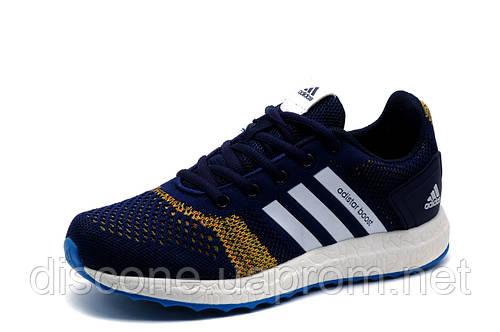 Кроссовки Adidas Adistar Boost, унисекс, текстиль, сини