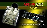 AREON CAR - Спрей, освежитель воздуха + карточка Car Perfume, GOLD, MCP-04, 50 ml