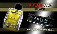 AREON CAR - Спрей, освежитель воздуха + карточка Car Perfume, BLACK, MCP-01, 50 ml