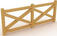 Ограждение деревянное Kidigo 1,7м * 1м