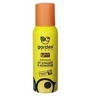 Аэрозоль от комаров и клещей GARDEX Baby на детскую одежду. 100мл.