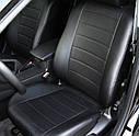 Авточохли повністю екокожа для Renault (Рено), фото 2