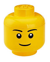 Ящик для хранения Lego Голова Мальчика L PlastTeam 40321732