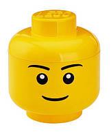 Ящик для хранения Lego Голова Мальчика L PlastTeam 40321732, фото 1