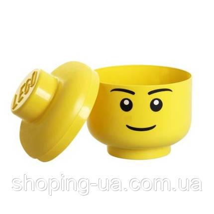 Ящик для хранения Lego Голова Мальчика L PlastTeam 40321732, фото 2