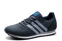 Кроссовки Adidas, мужские, текстиль, темно-серые, фото 1
