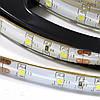 Светодиодная лента с влагозащитой,IP 44- силикон, скотч 3м,  SMD3528, 1м;60leds/m, 8мм*2,4мм, 12Vdc, 3000К