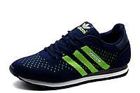 Кроссовки Adidas, мужские, текстиль, темно-синие, фото 1