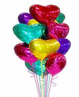 Фольгированные гелиевый шары без рисунка