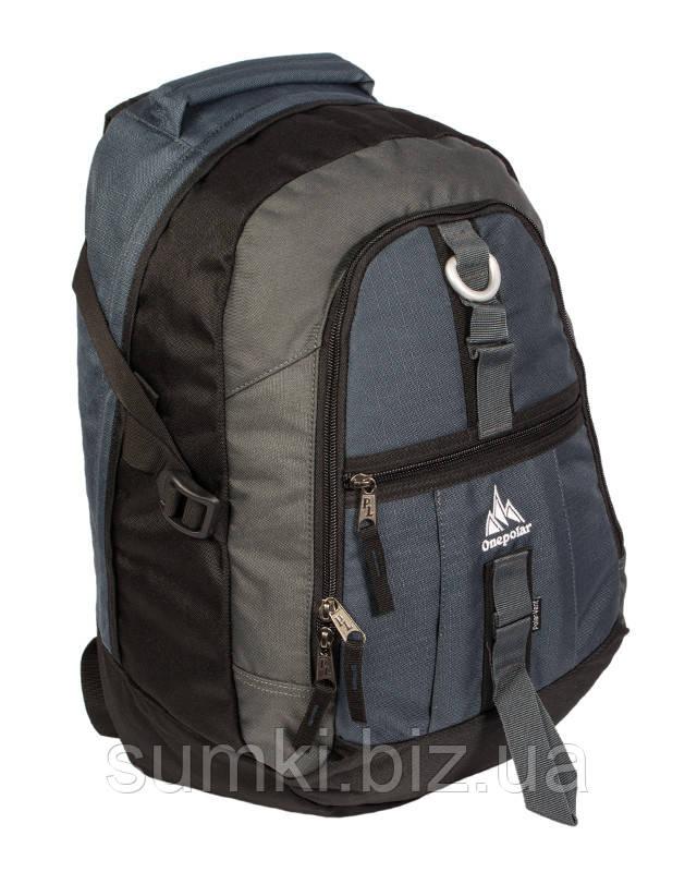 """Рюкзак """"OnePolar"""" 731 недорого серого цвета"""