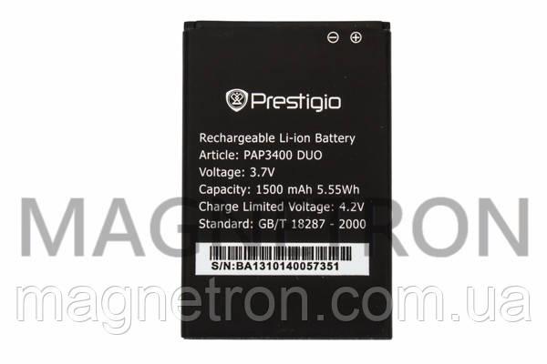 Аккумуляторная батарея PAP3400 Li-ion к мобильному телефону Prestigio 1500mAh, фото 2