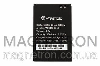 Аккумуляторная батарея PAP3400 Li-ion к мобильному телефону Prestigio 1500mAh