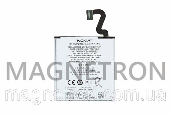 Аккумуляторная батарея BP-4GW Li-ion к мобильному телефону Nokia 2000mAh, фото 2