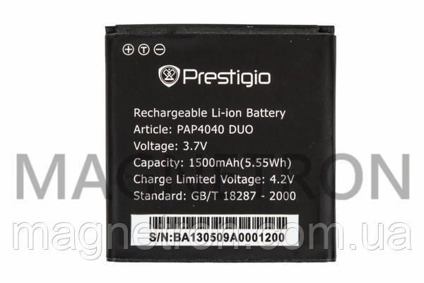 Аккумуляторная батарея PAP4040 Li-ion к мобильному телефону Prestigio 1500mAh, фото 2