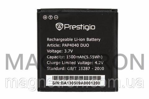 Аккумуляторная батарея PAP4040 Li-ion к мобильному телефону Prestigio 1500mAh