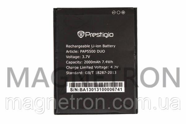 Аккумуляторная батарея PAP5500 Li-ion к мобильному телефону Prestigio 2000mAh, фото 2