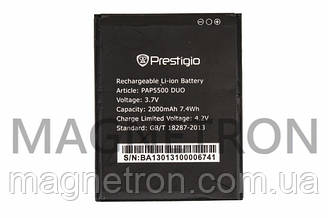 Аккумуляторная батарея PAP5500 Li-ion к мобильному телефону Prestigio 2000mAh