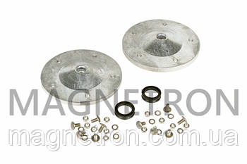 Опора барабана (суппорт, 2шт) и комплект крепления для вертикальных стиральных машин Whirlpool 481252088117