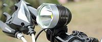 Велофара с ярким светодиодом CREE XML-T6 без АКБ велофонарь ( фара, фонарь)