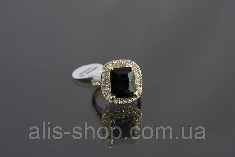1b9b13c54583 Эксклюзивное нарядное кольцо с крупным черным камнем для неотразимых модниц  : ...