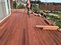 Монтаж террасной доски из дерева