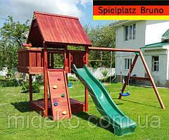 Детская площадка Spielplatz Bruno - монтаж бесплатно