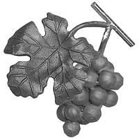 Виноградная гроздь кованая из металла 52.212