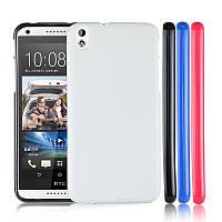 Чехол силиконовый Baseus для HTC Desire 800 / 816 White
