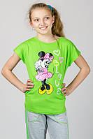 Детская трикотажная футболка Микки